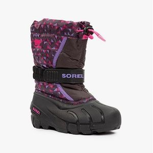 Sorel Pink Waterproof Girls Winter Boots